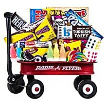 Sweet Memories Wagon ful of Goodies: Chocolates for Birthday