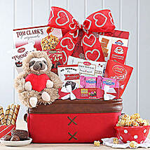 Sweet Selections Basket: Valentine's Day Gift Delivery in Boston