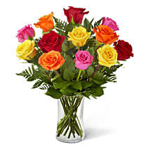 Sweetheart Mixed Rose Bouquet: Send Mothers Day Flowers to USA