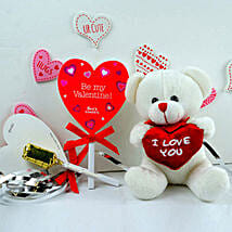 Teddy Bear N Candies Combo: Return Gift Delivery in USA
