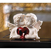 Two In Love Cherub Figurine: Valentine's Day Gift Delivery Chicago