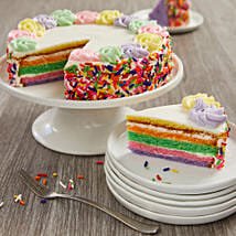 Rainbow Cake: Cake Delivery in Denver