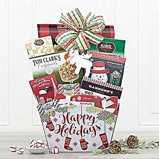 Winter Wonder Gift Basket: Corporate Hampers to USA