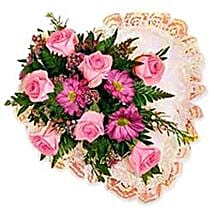Flower Heart wes: Send Gifts to West Indies