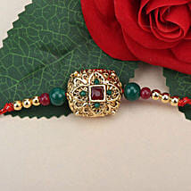 Traditional Antique Rakhi ZIM: Send Rakhi to Zimbabwe